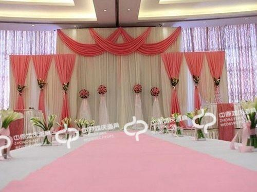 3pcsset luxury wedding curtain backdrops wedding stage decorations 3pcsset luxury wedding curtain backdrops wedding stage decorations backdrop curtain wedding decoration 1pcs34m2pcs 22m in party backdrops from home junglespirit Image collections