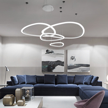 Creative DIY LED Chandelier White chandelier lighting Living Room Bedroom lampadari Suspension Luminaire Home Modern Chandelier