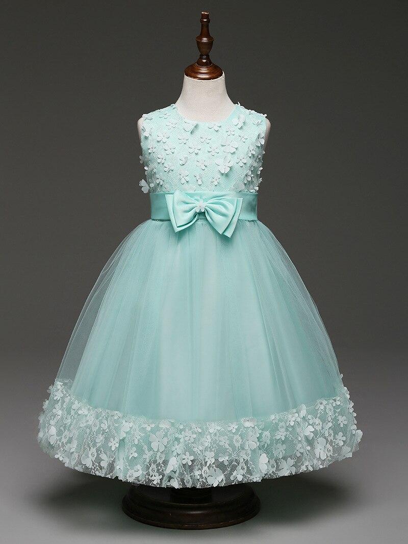 Flower Girls Dress For Wedding Baby Girl Birthday Outfits Children\'s ...