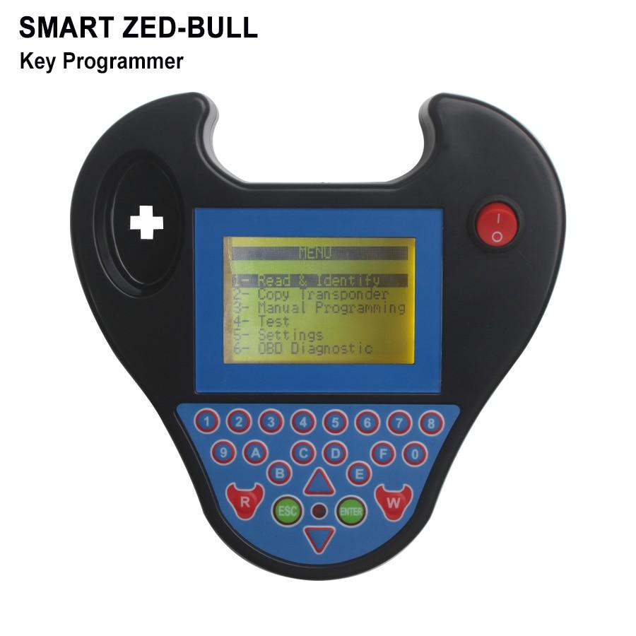 2018 New Version V508 Mini Type MINI Zed Bull Key Programming Immobilizer Fast Speed Super MINI Zed-Bull ZedBull Copy Chips mini smart zed bull multifunction car keys matching instrument red blue