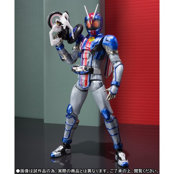 Anime Kamen Rider Drive Original BANDAI Tamashii Nations S.H.Figuarts / SHF Exclusive Action Figure - Kamen Rider Mach chaser