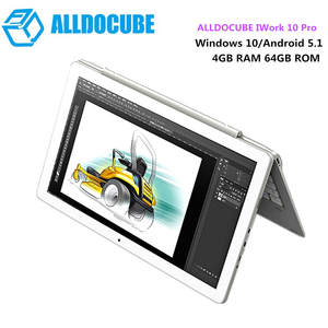 ALLDOCUBE IWork X5-Z8350 10.1 Inch 1.44 GHz 4 GB 64 GB 10 Pro Tablet PC