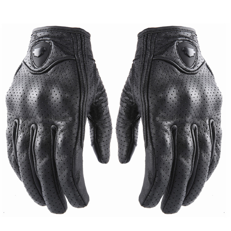 breathable sheepskin men protection pit bike hand protect moto guantes leather motobike luva touch screen retro motorcycle glove blue warmth off road dirt pit bike protect motocross parts scooter bike protection hand motorcycle guantes moto luvas bike glove