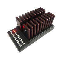 1 tastatur Sender 20 Coaster Pager Wireless Guest Paging-System für Restaurant