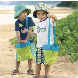 Ребенок пляжные складной Mesh Organizar детские пляжные игрушки детские игрушки песок инструменты для хранения открытый висит сумка 2 Размеры
