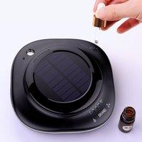 5V Universal Car Solar Air Purifier Mini Humidifier Negative Ion Accessories Car Styling
