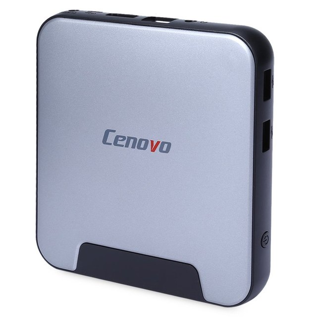 Cenovo Projeto Original Mini PC 2 Caixa De TV Para A Intel Cereja trilha Z8300 Quad Core HD 64bit Windows 10 H.265 WiFi BT4.0 conectividade