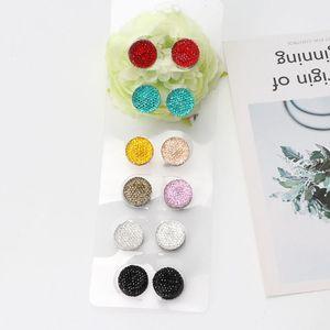 Image 5 - JAVRICK 12 пар мусульманские многоразовые Стразы магнитные броши для шарфов круглые шпильки для хиджаба
