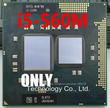معالج i5 560M (ذاكرة التخزين المؤقت 3m ، 2.66GHz ~ 3.2Ghz ، i5 560M ، SLBTS) PGA988 TDP 35 واط وحدة معالجة مركزية للكمبيوتر المحمول متوافق HM55 HM57 QM57