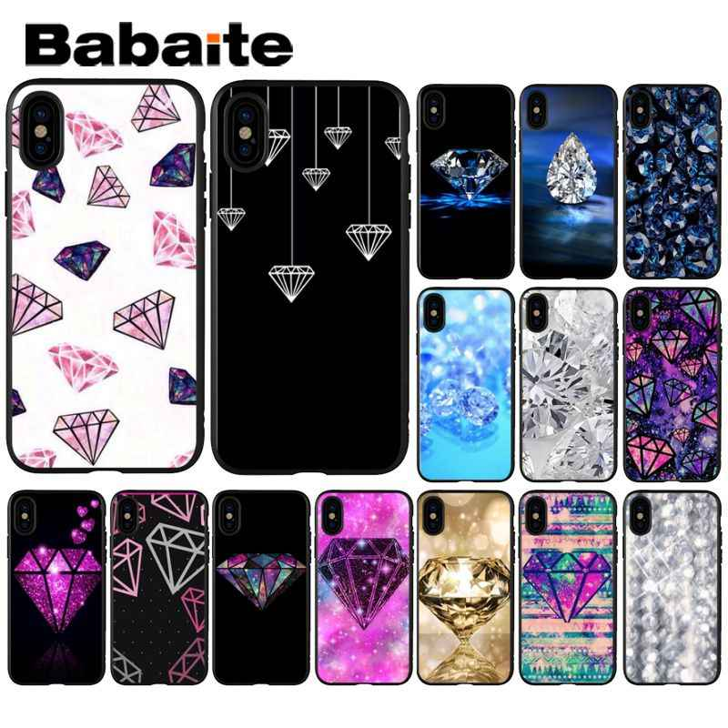 Babaite Diamond ring Just Print Customer High Quality Phone Case for iPhone  6S 6plus 7 7plus 8 8Plus X Xs MAX 5 5S XR