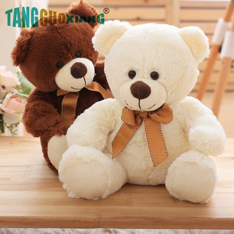 High Quality Toy Cartoon Teddy Bear Plush Toys 25cm Stuffed Plush Animals Bear Doll Birthday Gift For Children-in Stuffed & Plush Animals from Toys & Hobbies