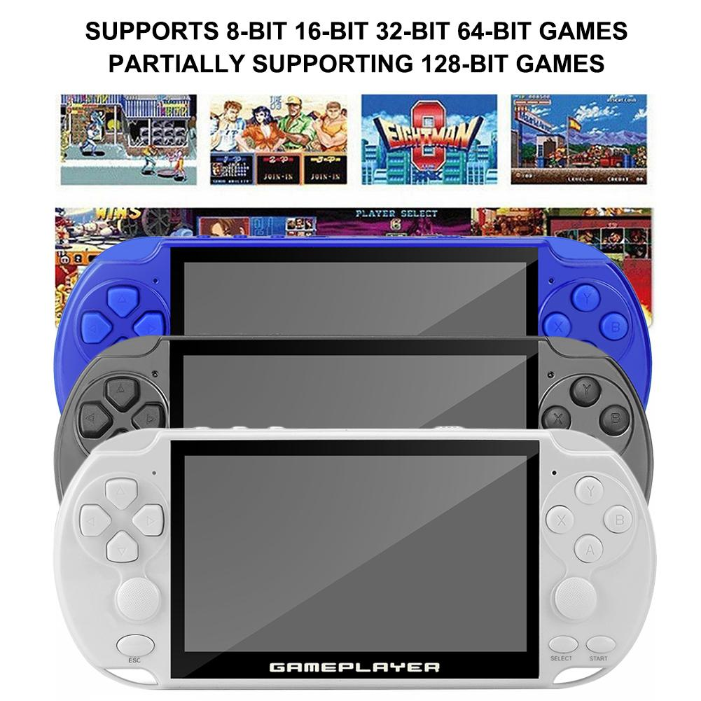 Frequency Nostalgic Game Console 16G Handheld Game Console With 5.1-inch Color Screen 128-bit Arcade Game ConsoleFrequency Nostalgic Game Console 16G Handheld Game Console With 5.1-inch Color Screen 128-bit Arcade Game Console