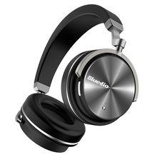 Bluedio T4 Bluetooth Earphone Noise Cancelling Bluetooth 4.2 Wireless Headphones Earphones for Xiaomi Computer все цены