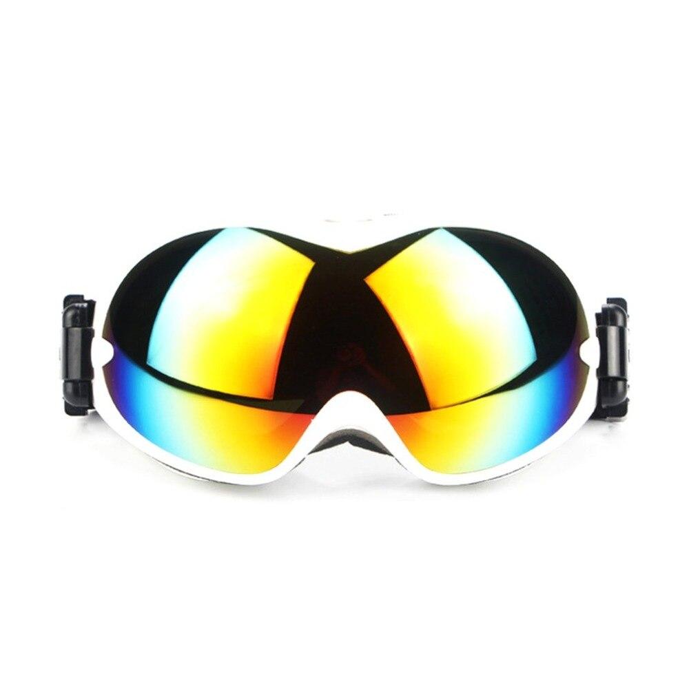Двухслойная лыжные очки двухслойные UV400 Анти-туман большой Лыжная маска очки на лыжах мужские и женские зимние очки для катания на сноуборд...