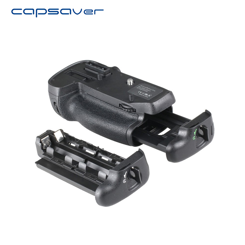 capsaver Vertical Battery Grip for NIKON D7100 D7200 Replacement for MB-D15 Multi-Power Battery Handgrip Holder