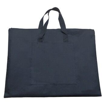 Черный портативный холст A2 одно плечо Рисунок эскизная доска для хранения файл сумка Школа Искусство Живопись сумка