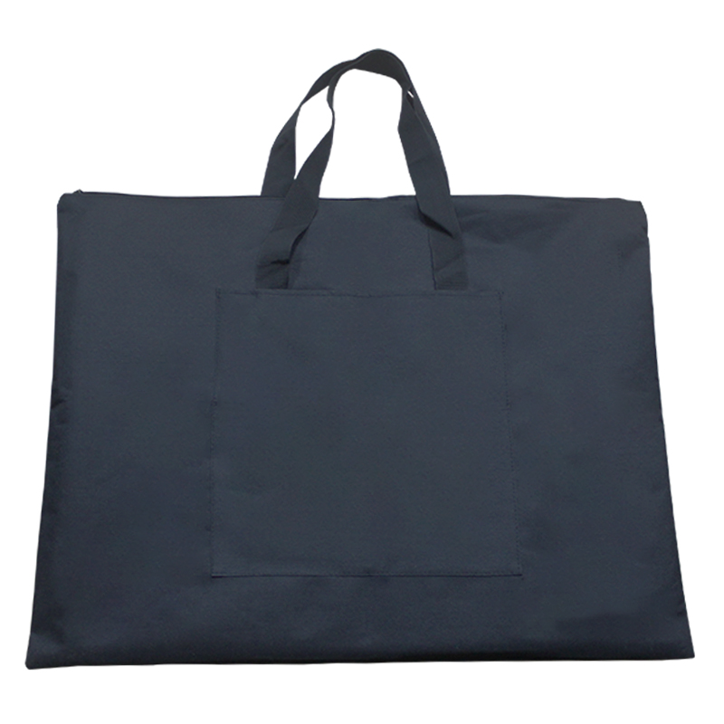 Black Portable Canvas A2 Single Shoulder Drawing Sketch Board Storage File Bag School Art Painting Bag