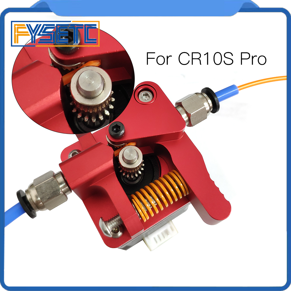 Upgrade Long-Distance Remote Metal Extruder Block DIY Gear Extruder Kit For CR 10S PRO Creality CR-10S PRO 3D Printer Parts