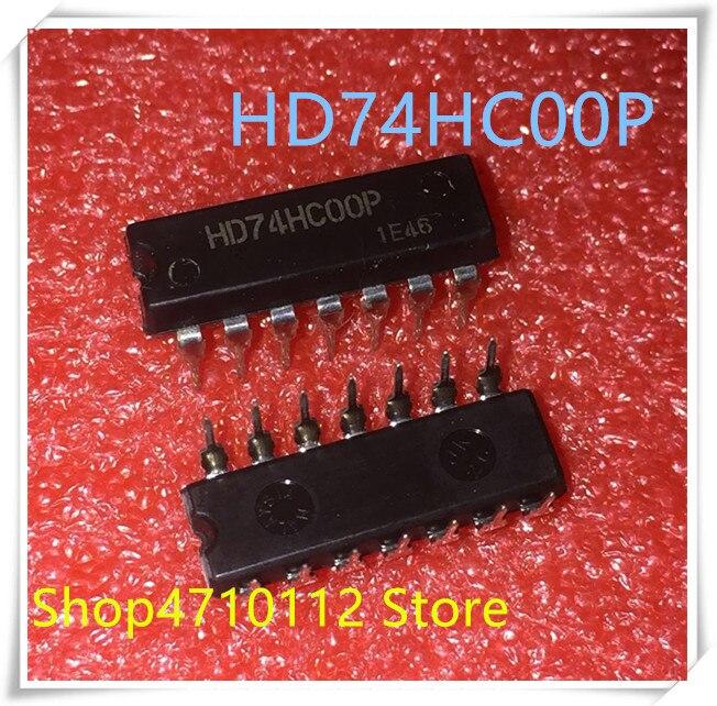 NEW 10PCS/LOT HD74HC00P HD74HC00 74HC00P DIP-14 IC