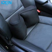 Newest Design Universal Car Back Support Breathable Mesh Cloth Car Seat Support Cushion Lumbar Waist Back Support Lumbar Pillows