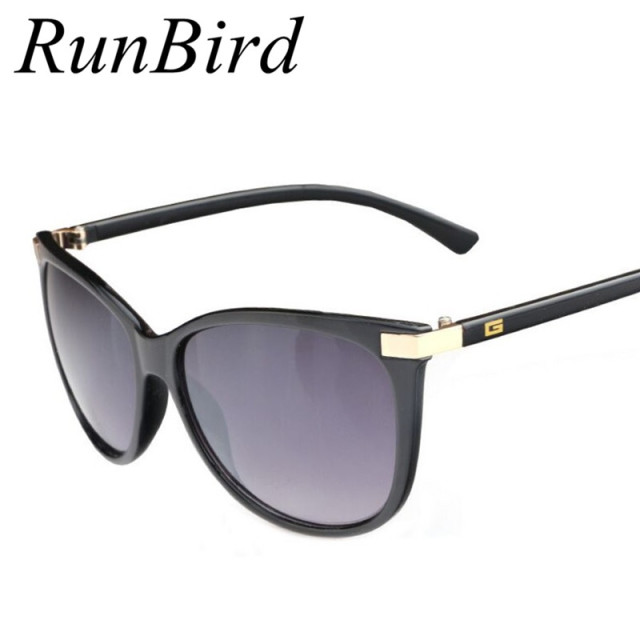 e800e1220121 RunBird Fashion Women Brand Design Sunglasses
