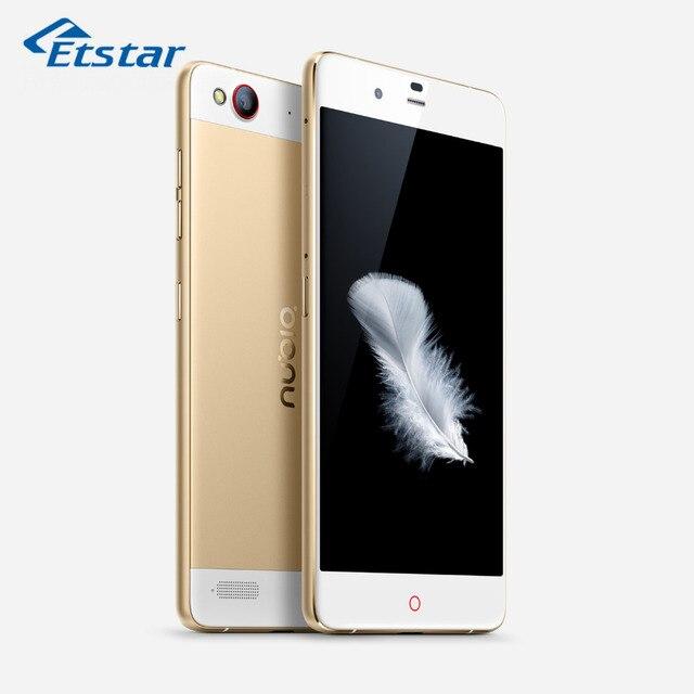 Оригинал ZTE Nubia My Prague Мобильный Телефон 5.2 Дюймов Snapdragon 615 Quad Core 3 ГБ FHD1080P 13.0 MP RAM 32 ГБ ROM 4 Г LTE Android 5.0