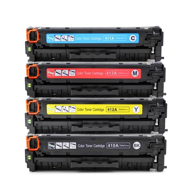 Toner Compatible 305A CE410A 305X CE410X Cartouche De Toner pour LaserJet Pro 300 M375nw 400 M451dn M451dw MFP M451nw MFP M475dn