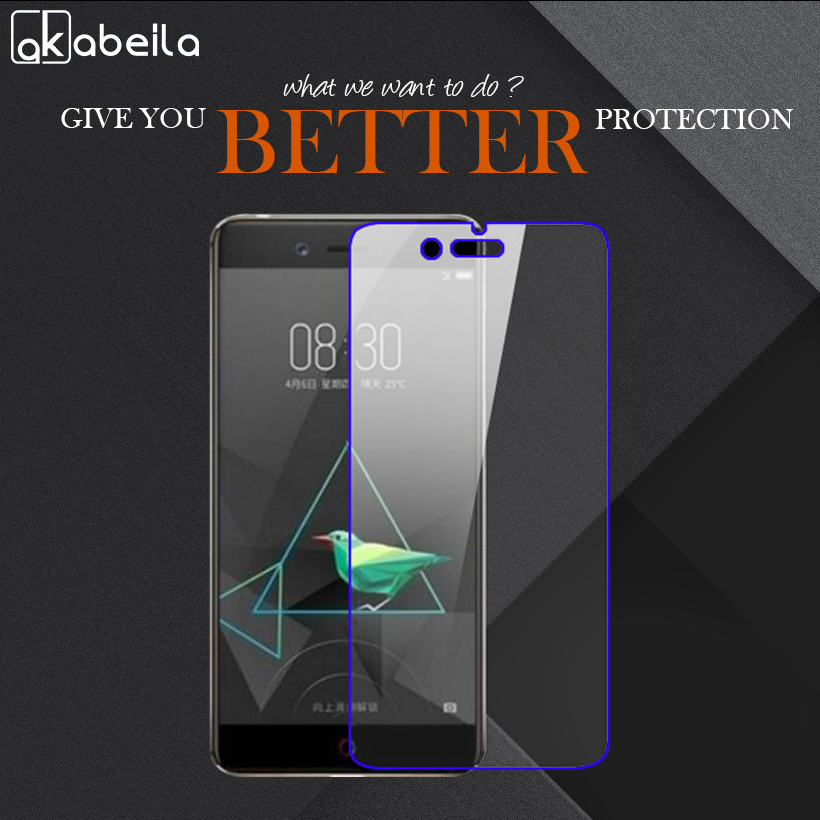 AKABEILA Phone Tempered Glass For ZTE Nubia Z17 mini Nubia Z12 mini 5.2 inch Tempered Glass Temperli Cam Steel Wholesale