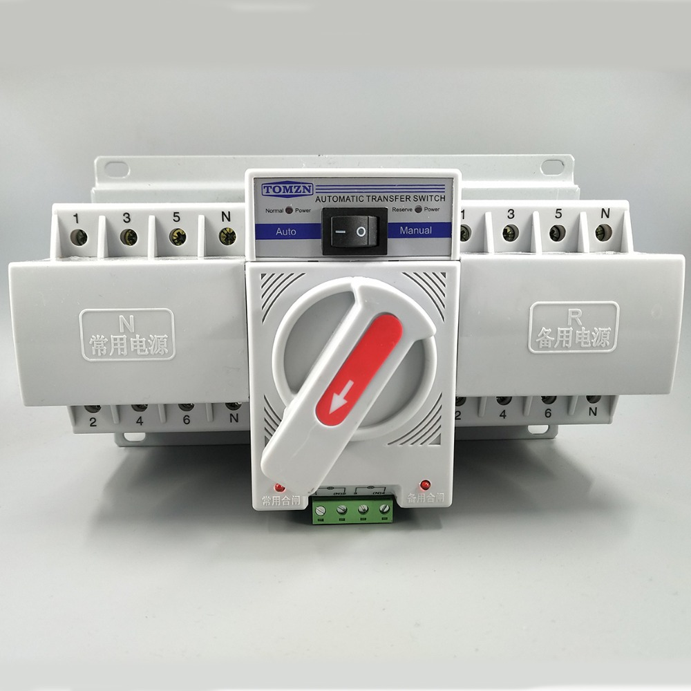 4 63a 380 Mcb Ats Automatictransfer Switch 220v 5 Main Circuit Connectionjpg