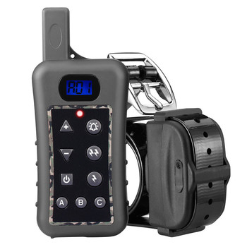 400m Electronic 2 dog training collar Rechargeable Waterproof dog remote shock training collar for 2 dogs