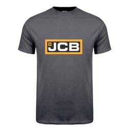 Camiseta escavadora jcb masculina, manga curta jcb