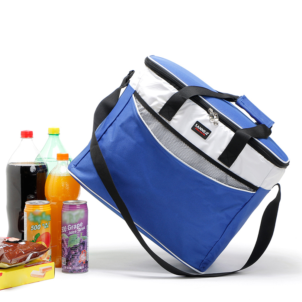 Image 3 - Lixada 34L Outdoor Insulated Bag Cooler Lunch Tote Thermal Bento Bag Camping BBQ Picnic Food Freshness Insulated Cooler Bag-in Picnic Bags from Sports & Entertainment