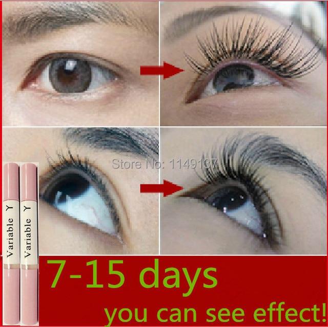 1e4ac7efcb8 2pcs Variable Y Eyelash Serum 100% healthy natural eyelash growth Liquid  mascara brush 7-15 days grow new eyelash free shipping