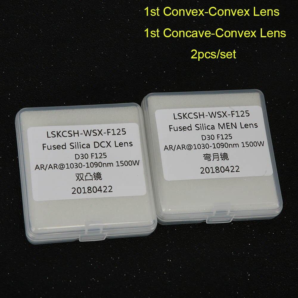 Lentille de focalisation laser fibre de haute qualité/lentille collimateur D30 F75/100/125/150mm pour les agents de gros de tête de découpe laser WSX
