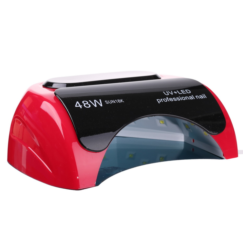 Professional 48W UV LED Lamp Nail Dryer For Gel Varnish Curing Art Manicure Automatic Sensor Tools Polish Machine For Finger цены