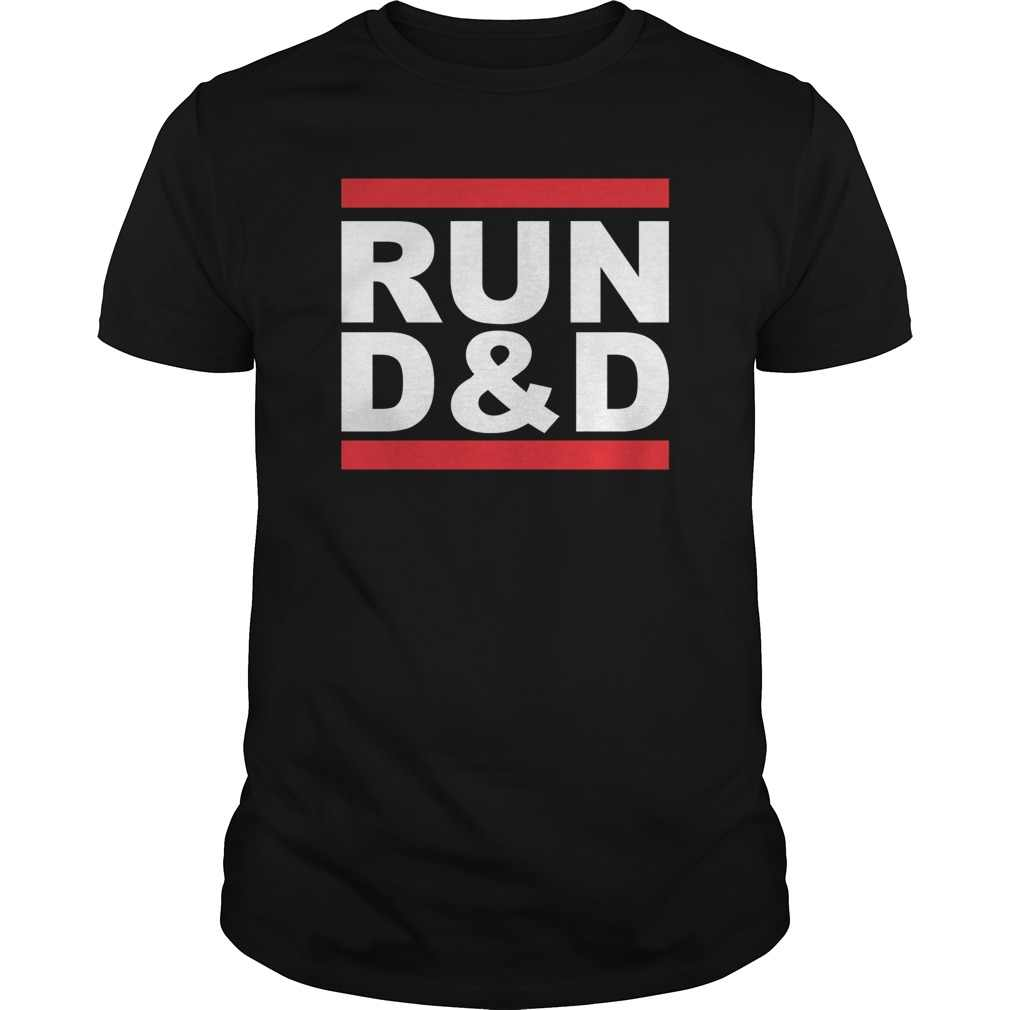 98b75a4ee8d Funny Men t shirt Women novelty tshirt Run Dungeons and Dragons Dnd Run Dmc  cool T