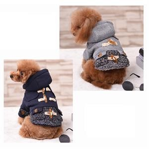 Free-shipping-2017-New-Chicdog-Dog-Clothes-Hooded-woollen-Dog-Coat-Autumn-Winter-Warm-Cotton-Costume