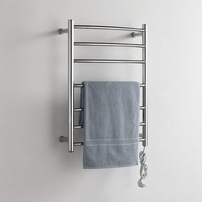 Нагрева 50 градусов термостатический 7 баров полотенце баров нержавеющая сталь полированная Настенные вешалка для полотенец 220 В подходит W/