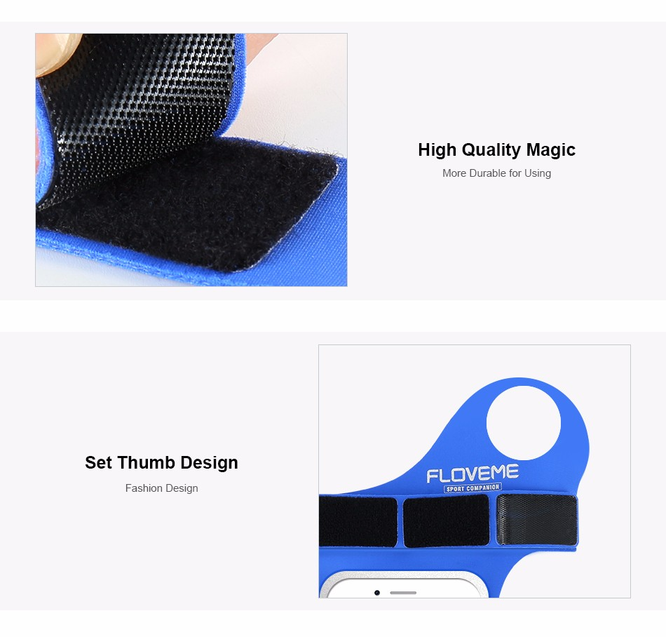 FLOVEME New Cycling Sports ARMBAND Case For Apple Iphone 6 6S Plus SE 4S For Iphone5S For XIAOMI REDMI For HUAWEI P9 Touch Pouch 1 (10)