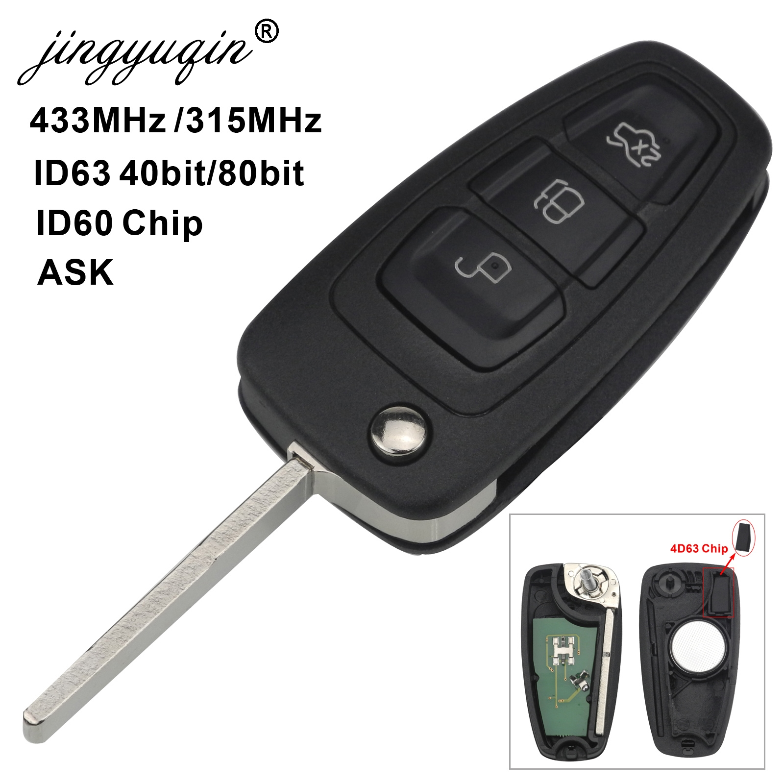 Top 10 Most Popular Ford Metalic Remote Key Near Me And Get Free Shipping Mbojkdic 90