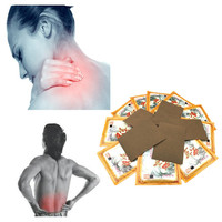 Medicines Heating Cordycep Essential Oil inflammatory Pain relief plaster for Muscle aches pain,relief muscular fatigue 8pcs/bag Essential Oil
