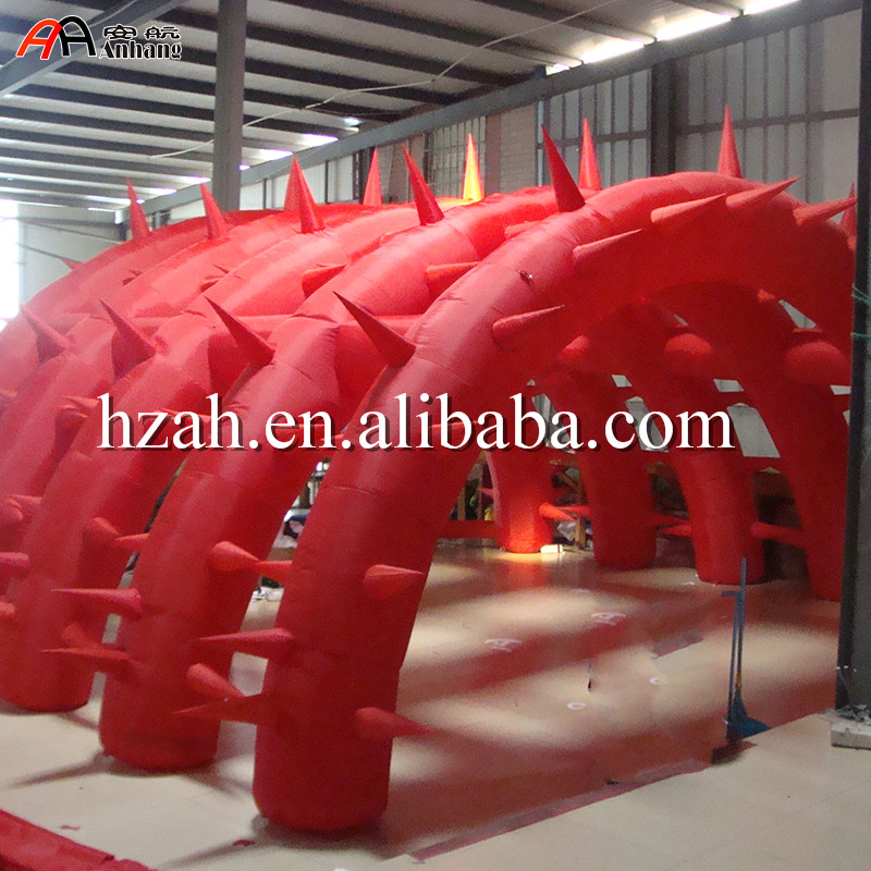 Free Shipping Inflatable Arch Dome Shelter Marquee Inflatable Arch Tunnel Tent with Spike r0163 free shipping cheap inflatable arch halloween inflatable arch inflatable welcome arch inflatable finish line arch for sale
