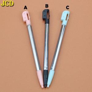 Image 3 - JCD 1 stücke 3 Farbe Versenkbare Metall Touch Screen Stylus Pen Set Für Nintend Für Nintend DS Lite NDSL Gaming zubehör