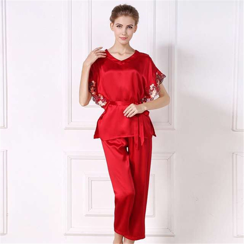 Red Silk Suit Promotion-Shop for Promotional Red Silk Suit on ...