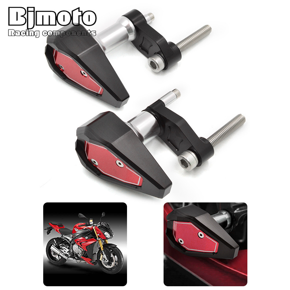 Motorcycle Frame Sliders Crash Protector for BMW S1000RR HP4 2010 2011 2012 2013 2014 Motocross CNC Falling Anti Crash Pads motorcycle cnc aluminum frame sliders crash pads protector suitable for kawasaki z800 2012 2013 2014 2015 2016 green