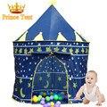 Presente da criança Grande Azul Príncipe Tenda Bonito Crianças Casa de Jogos Linda criança Jogar Bebê Tenda Tenda Muito Indoor E Ao Ar Livre, ZP2012