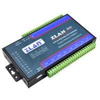 ZLAN6842 RS485 RJ45 Ethernet 8 channels DI AI DO RS485 Modbus I/O module RTU  data collector remote controller board module|Building Automation| |  -