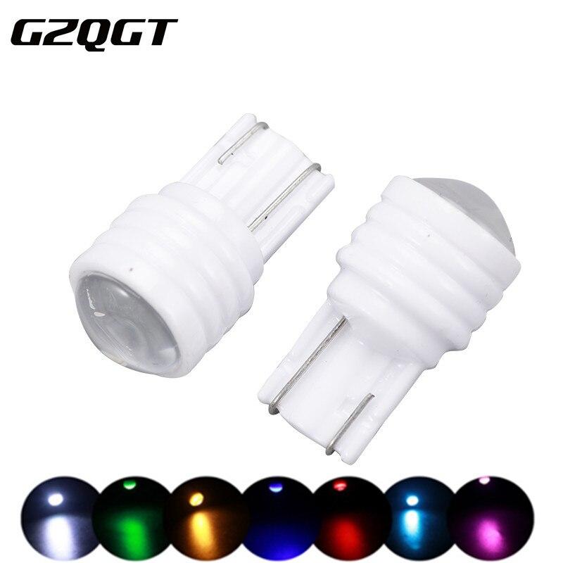 10 шт. 194 501 w5w canbus Ceramic T10 3SMD 2835 автомобильный номерной знак светодиодный светильник лампа для очистки багажника dc12V Объектив Авто клиновидный ...