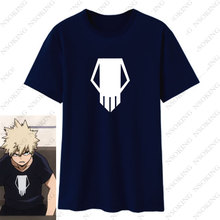 T Shirt Men for Anime My Hero Academia bakugou katsuki Cosplay Boku No Hero Academia T-shirts Short Sleeve tshirts