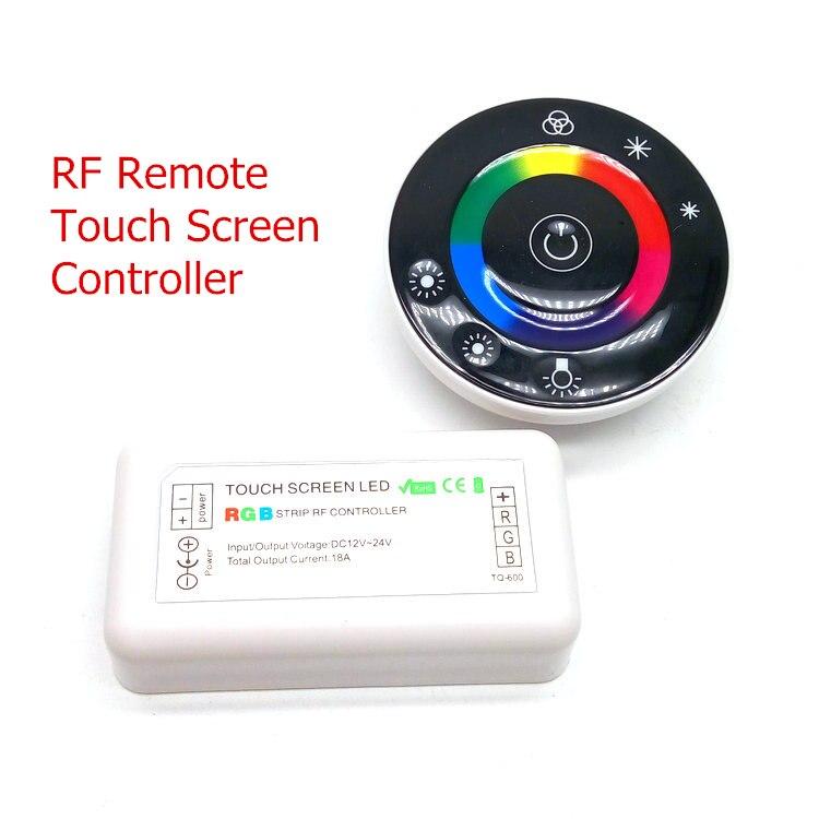 LED zolaq dəsti 10M SMD 5050 RGB + Simsiz RF toxunma nəzarətçisi - LED işıqlandırma - Fotoqrafiya 3